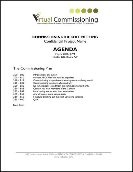 21+ Free Meeting Agenda Format - Word Excel Formats