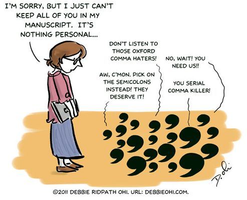 Who gives a blank about the Oxford comma? (Christine does ...