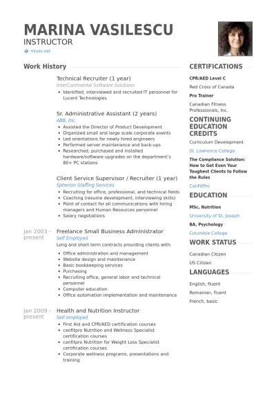 recruiter resume sample human resources resume technical recruiter ...