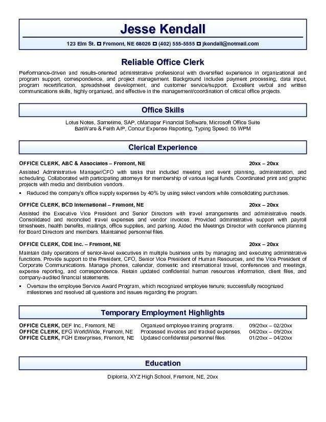 Resume Templates Open Office. Open Office Resume Template | Health ...
