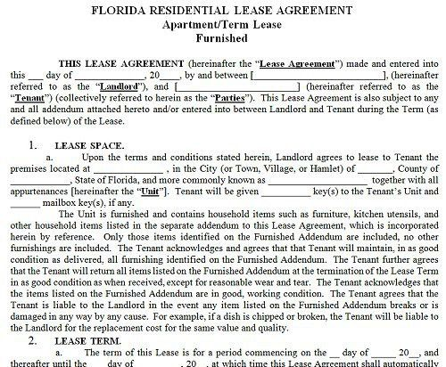 Sample Apartment Lease Agreements. Rental Application Template 16 ...