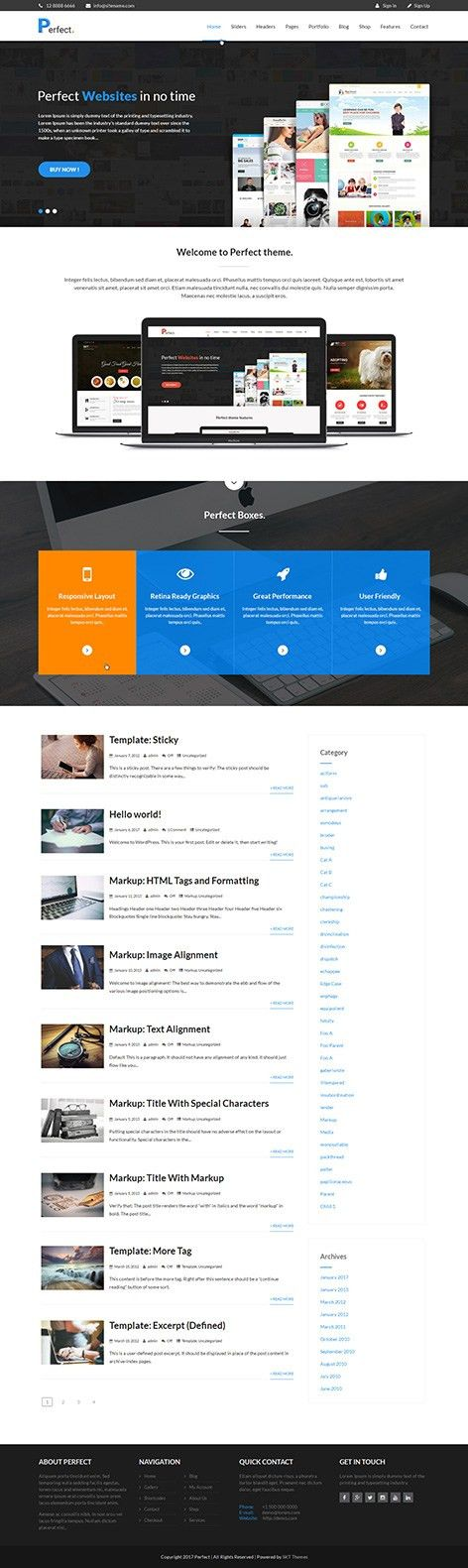 Free Landing Page WordPress Theme for landing pages product, app ...