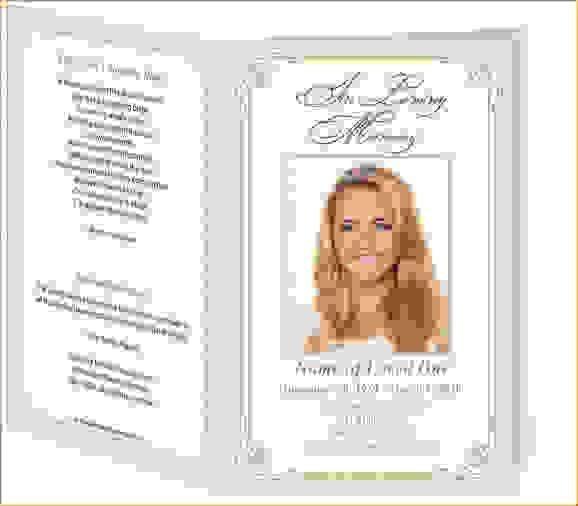 11 Free Funeral ProgramsAgenda Template Sample | Agenda Template ...