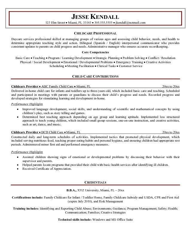 Child Resumes – Template in Resume Templates For Kids