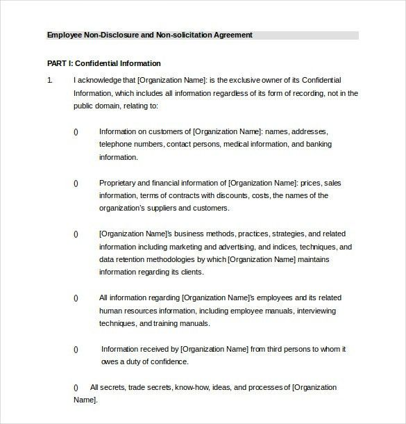 Employee Agreement Template – 10+ Free Word, PDF Document Download ...