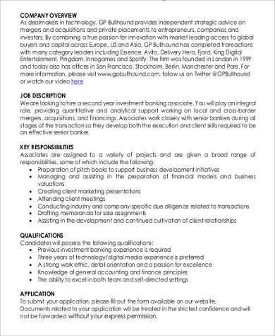 accounting associate job description sample job