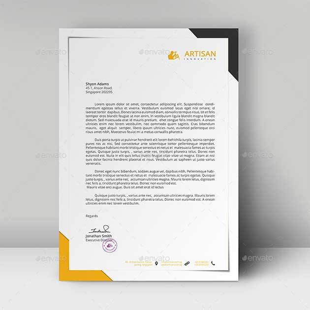 25+ Free Letterhead Templates Available In PSD MS Word & PDF Formats