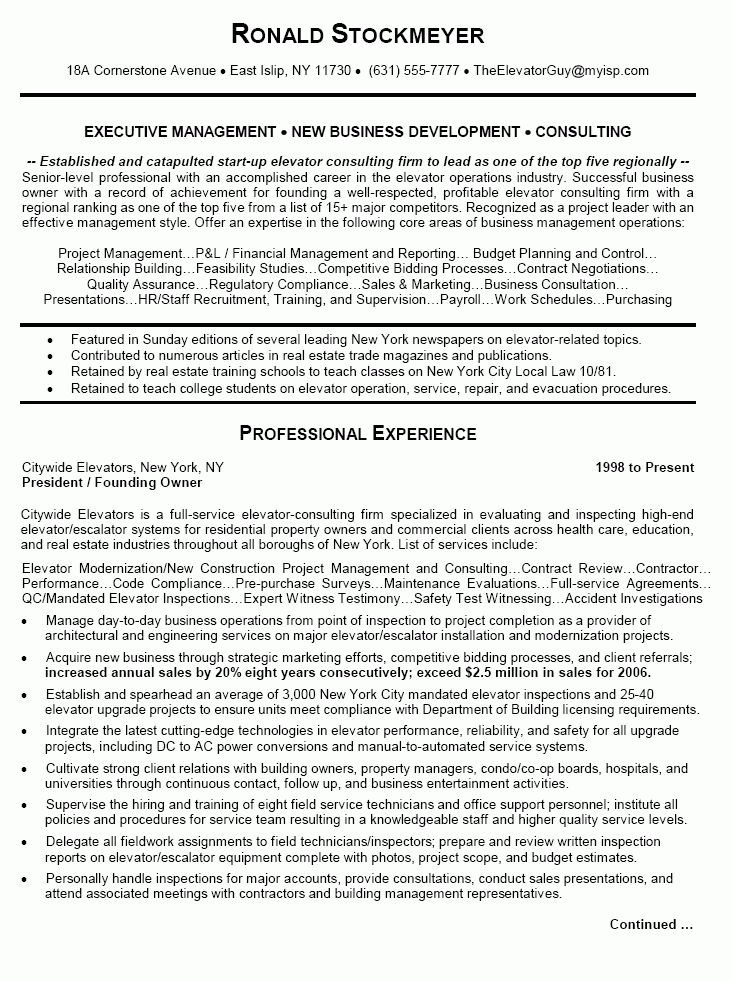 business consultant resume sample tope business consultant resume ...