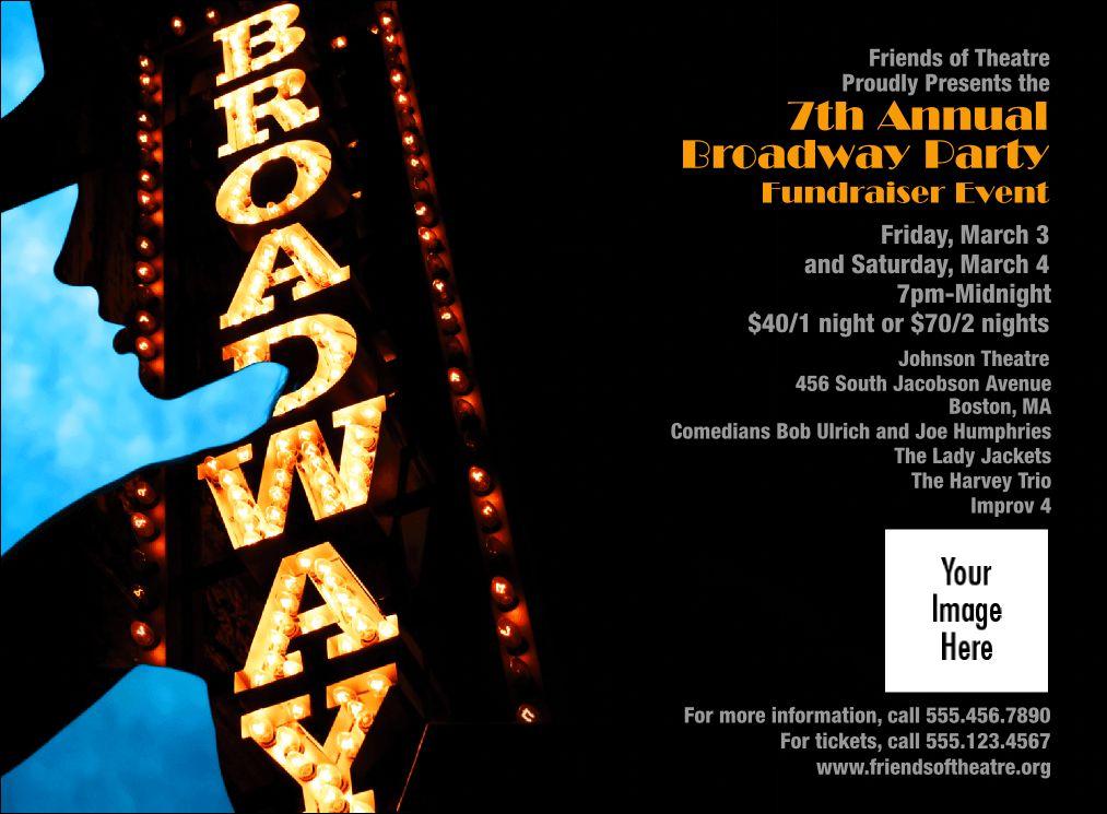 Broadway Event Ticket
