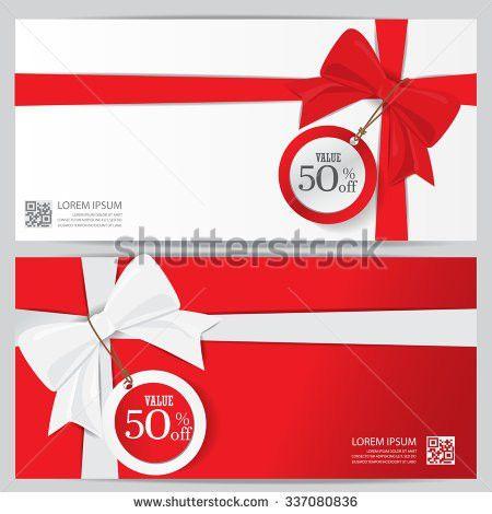 Gift Voucher Certificate Coupon Food Menu Stock Vector 324231800 ...
