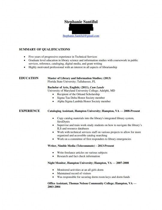 The Most Brilliant How Should A Good Resume Look | Resume Format Web