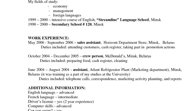 hostess resume job description hostess job description for resume ...