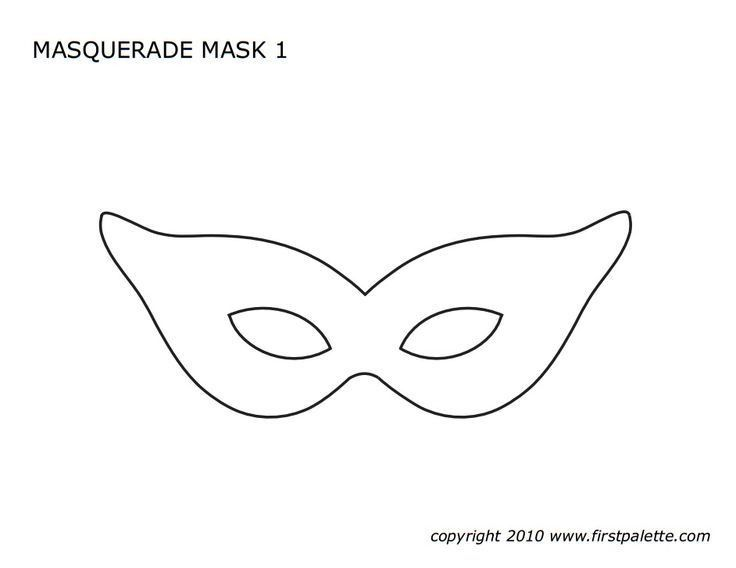 Masquerade Mask Template. Masquerade Mask - Download From Over 30 ...