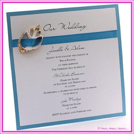 Beach Wedding Invitation Wording - vertabox.Com