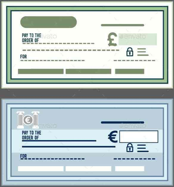 Blank Check Template – 30+ Free Word, PSD, PDF & Vector Formats ...