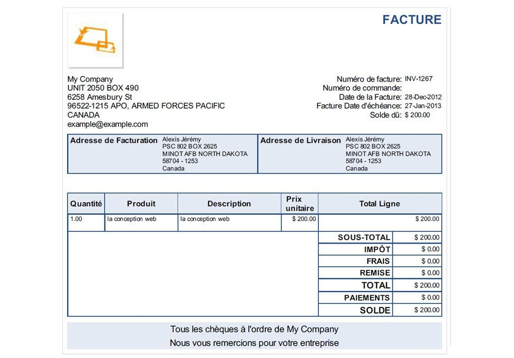 Invoice Journal | Sample Invoices