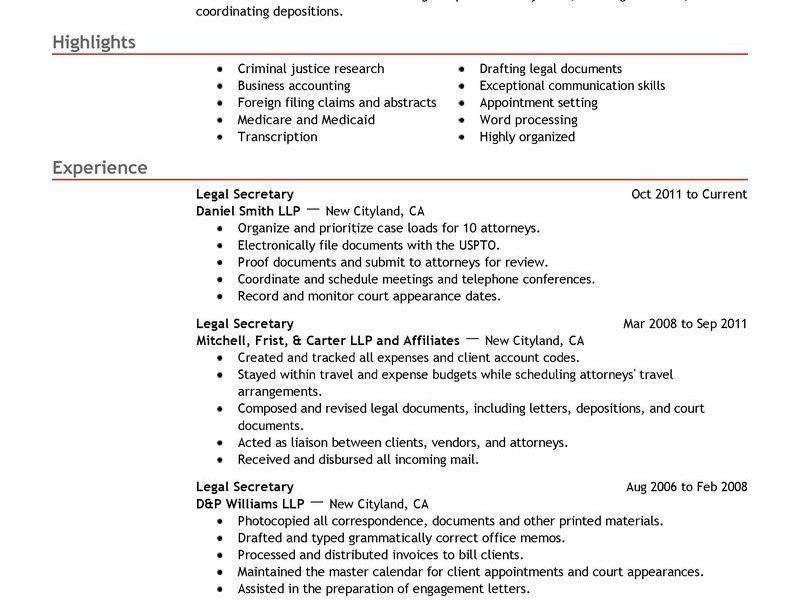 Secretary Resume Examples. Top 8 Corporate Secretary Resume ...