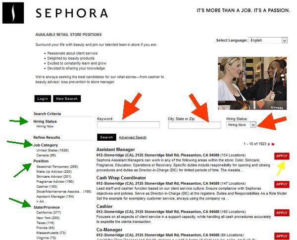 Sephora Career Guide – Sephora Application | Job Application Review