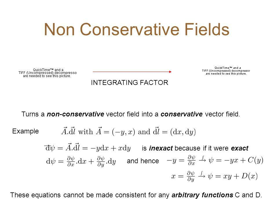 Lecture 7: Non-conservative Fields and The Del Operator ...