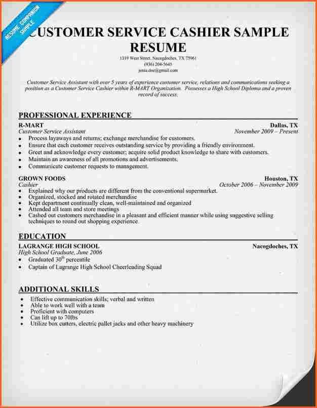 professional cashier resume cashier resume sample writing guide