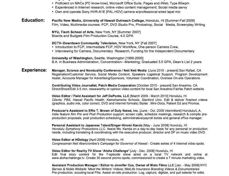 film resume template best photos of film crew resume film crew