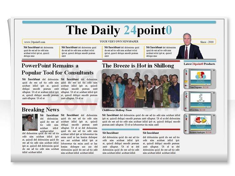 powerpoint newspaper template powerpoint newspaper template 21 ...
