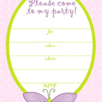23 Creative Birthday Party Invitation Card Templates | Perfect ...
