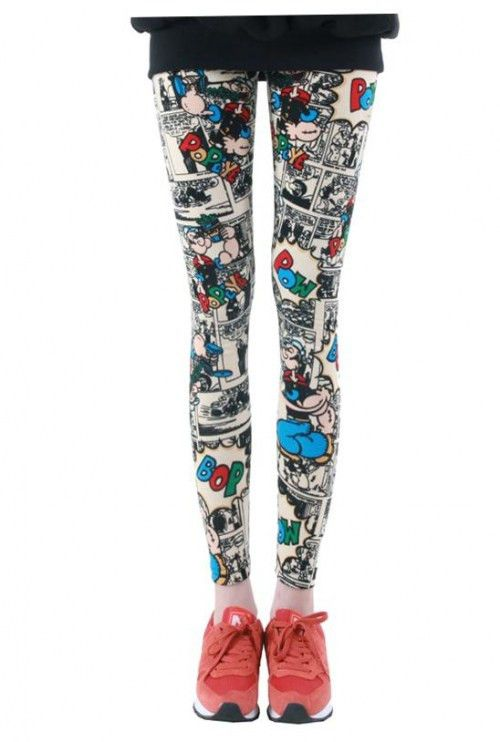 Example of Sublimation Leggings