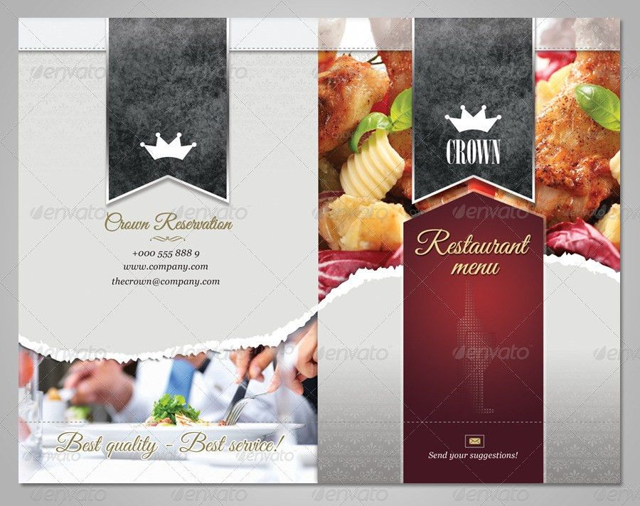 Delicious Restaurant Menu Template by punedesign | GraphicRiver
