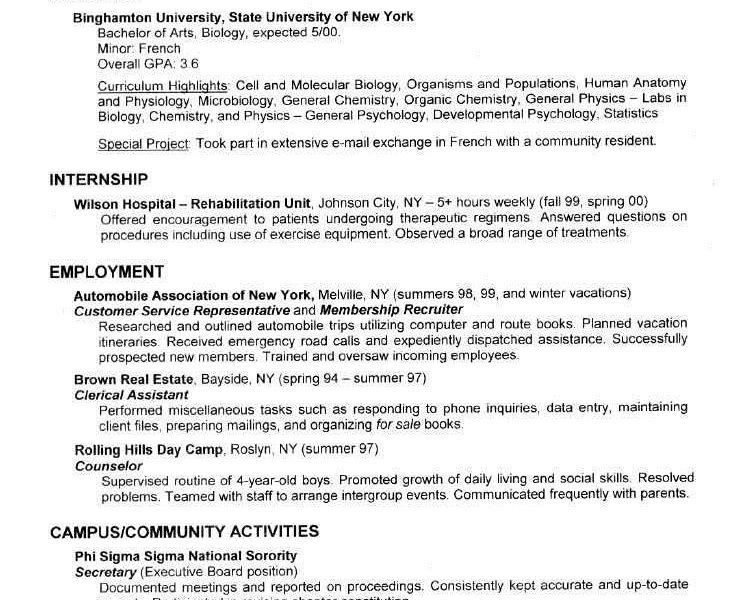 Incredible College Student Resume Examples 10 Job Resume Examples ...