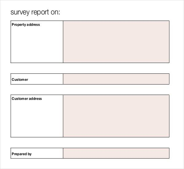 10+ Blank Survey Templates – Free Sample, Example, Format Download ...