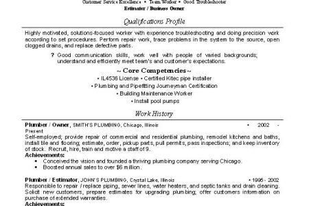 Download Plumbing Engineer Sample Resume | haadyaooverbayresort.com