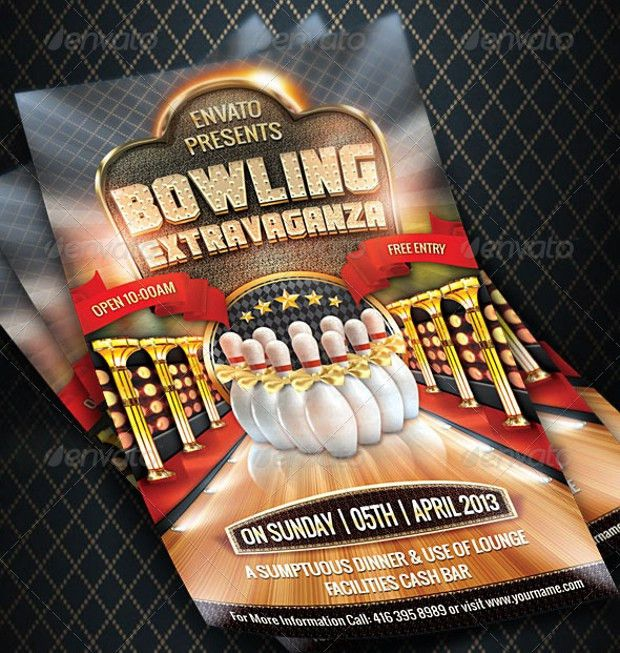 21+ Bowling Flyer Designs, PSD Download | Design Trends - Premium ...