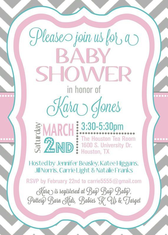 Baby Shower Sample Invitations | THERUNTIME.COM