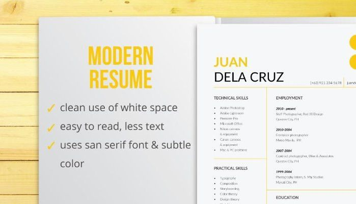 Resume Types by Design | Zarex Alvin Daria | Pulse | LinkedIn