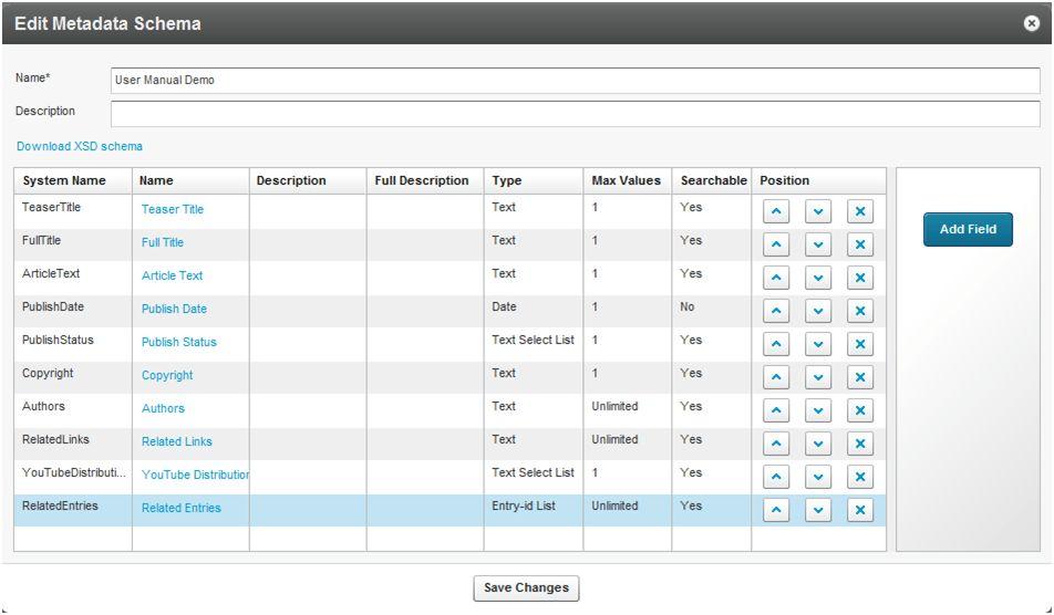 What Fields Can Be Configured In Kaltura Custom Metadata Profiles ...