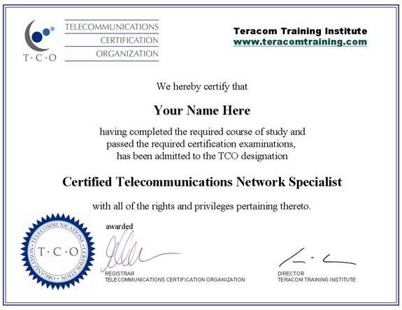 Free Online Telecommunications Training Certification Course Lessons