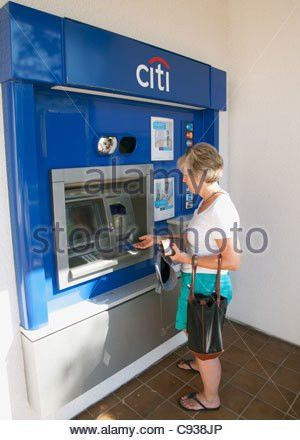Citibank ATM machine Stock Photo, Royalty Free Image: 68892085 - Alamy