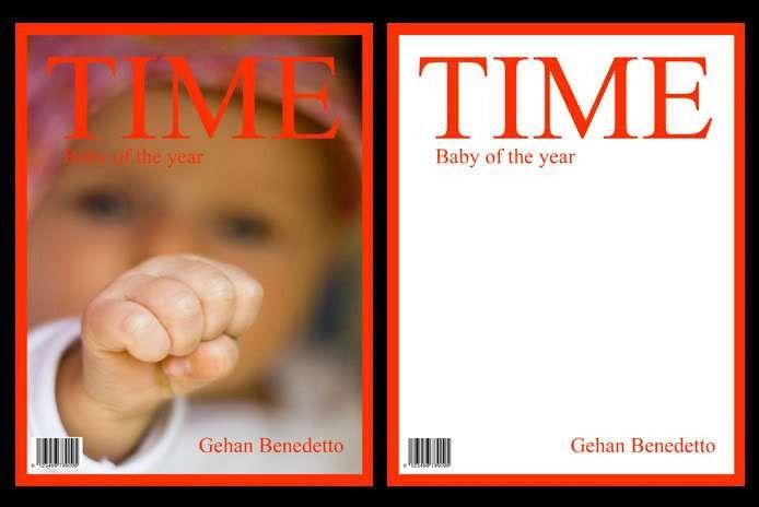 Baby Birth Magazine Frame Cover Photoshop Templates V2 | eBay