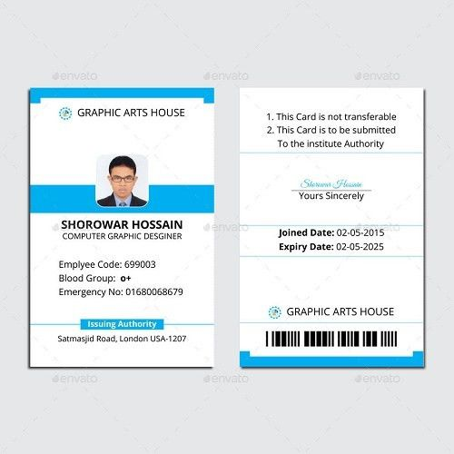 25+ Best ID Card Mockup Templates – PSD, EPS, AI Download