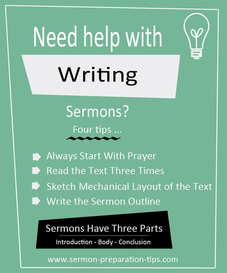 7 best How To Write Sermon Outlines images on Pinterest | Youth ...