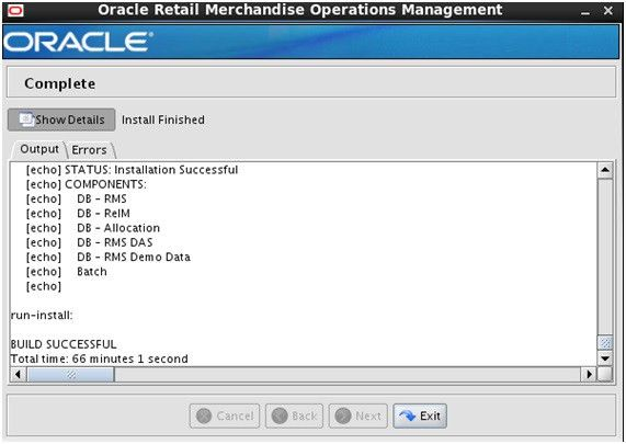 Oracle Retail Patch Assistant (ORPatch) for RMS - Part 3 - Working ...