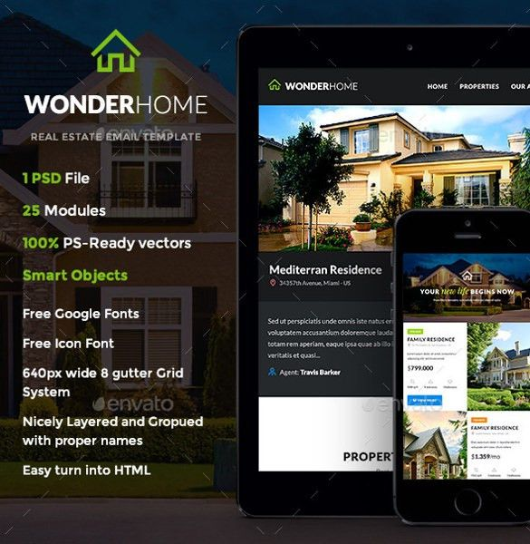 Real Estate Newsletter Template – 10+ PSD, PDF Documents Download ...