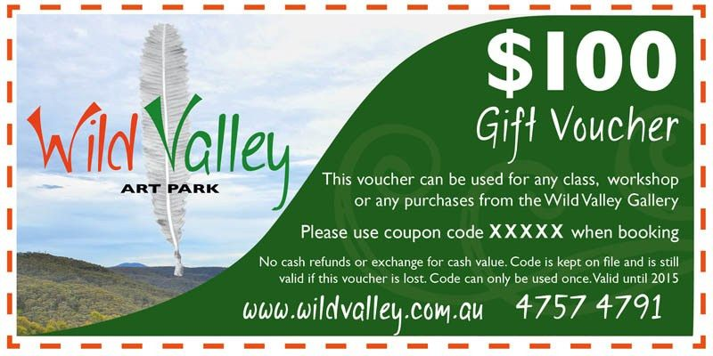 Gift Voucher sample | Wild Valley