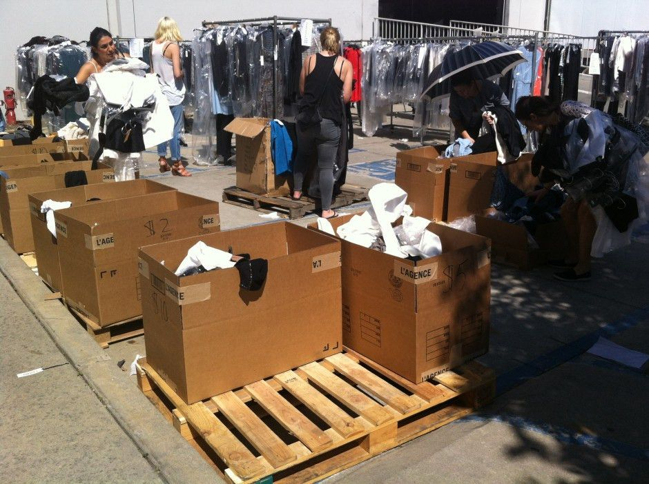 REVIEW: L'Agence Warehouse Sale   Handbag Honey