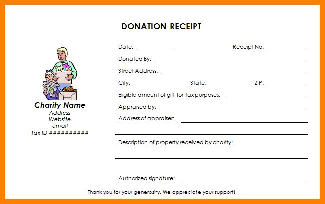 Donation Receipt Letter Template. donation thank you letter ...