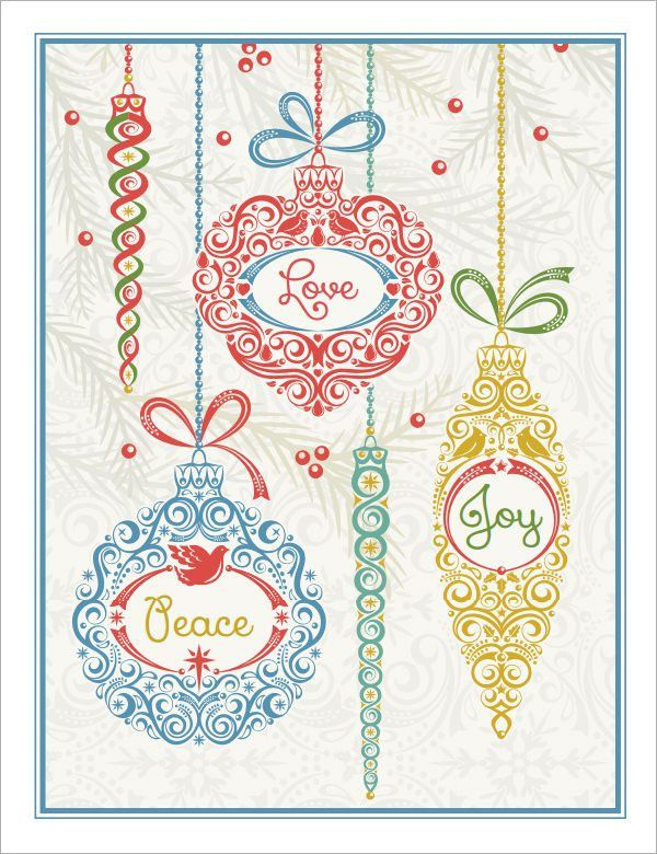 9+ Greeting Card Templates
