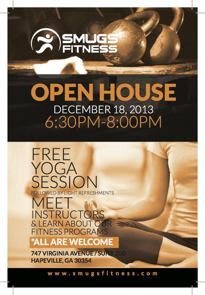 FREE YOGA SESSION and OPEN HOUSE! by Sam Mugavero