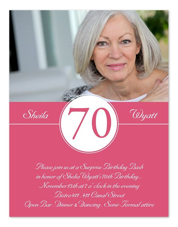Stunning 70Th Birthday Invitation Cards 11 For Sample Invitation ...