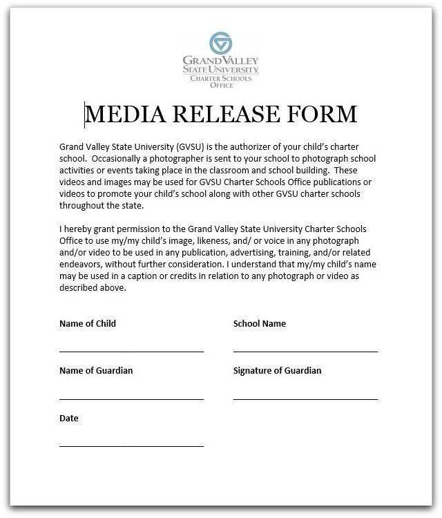 General Release Form. General Media Release Form Template Media ...